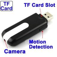 USB Stick Kamera - Spionage Cam mit Bewegungsmelder