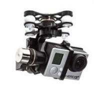 DJI Zenmuse H3-3D 3 Axis High Performance Gimbal for GoPro Hero3/Hero3+