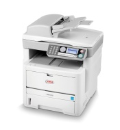 OKI MB 470 - Multifunction ( fax / copier / printer / scanner ) - B/W - LED - copying (up to): 22 ppm - printing (up to): 30 ppm - 300 sheets - 33.6 K
