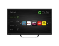 Seiki HD Ready 32-Inch Smart LED TV with Built-in Wi-Fi and Freeview HD, [Importado de UK]