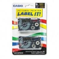 Casio Inc. XR9BKG2S Tape Cassette for Label Printer