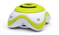 Kinivo ZX100 Mini Portable Speaker with Rechargeable Battery and Enhanced Bass Resonator (Green-White)