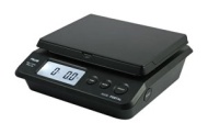 American Weigh Scales Table Top Postal Scale, Black