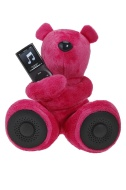 Hi-Fun Hi-George Speaker per iPod/iPhone e lettori mp3 - Fucsia