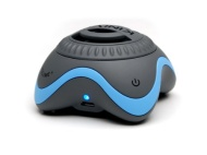 Kinivo ZX100 Mini Portable Speaker with Rechargeable Battery and Enhanced Bass Resonator (Grey, Blue)