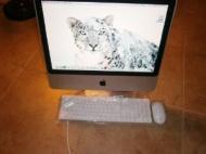 "Apple iMac Aluminum Core 2 Duo E4400 2.0GHz 1GB 250GB DVD±RW Radeon HD 2400 20"" AirPort OS X w/Webcam & Bluetooth"