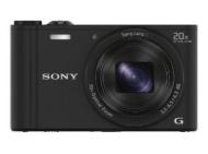 Sony DSCWX350B.CE3 Fotocamera Compatta con zoom ottico 20x, Nero/Antracite