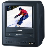 Toshiba MV9KD1 9 in Combo CRT TV