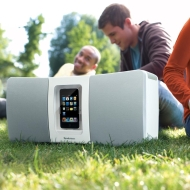 Boombox Portable Speaker System for iPod