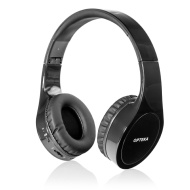 Opteka BTX-1 Wireless Bluetooth 4.0 Collapsible Headphones with Built in Microphone, 8 Hour Battery & Case