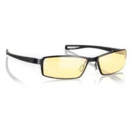 Gunnar Optiks S6127/2-C001 Wi-Five Full Rim Compact Ergonomic Advanced Computer Glasses with Amber Lens Tint, Onyx Frame Finish