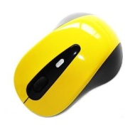 Neewer Cordless 2.4GHz USB Receiver Wireless YELLOW Optical Mouse New