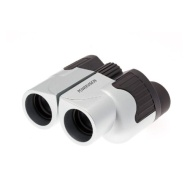 Serious User Silver/Grey Binoculars 10x25 Lightweight Compact Alloy Folding Body. Special Anti Glare Fully Coated Optics. Ideal for Travel, Concerts,