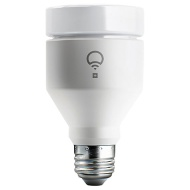 LIFX + A19 White, Colour and Night Vision Wireless Smart Lighting Adjustable Colour Changing LED Light Bulb with Built-in Wi-Fi, 11W A60 E27 Edison Sc