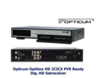 Optibox HD 2CICX HDTV Receiver USB PVR ready