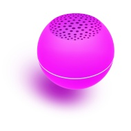 Polaroid Universal Bluetooth Wireless Mini Speaker Compatible With All Devices, Pink