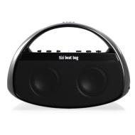 equinux tizi beat bag - Mobiler Bluetooth Lautsprecher mit Griff für iPad, iPhone, iPod, Tablets, Smartphones, PC und Mac (mit austauschbarem tizi Akk