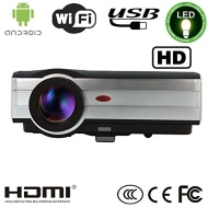 EUG X89+(A) LCD Android4.2 Wireless Wifi Home Cinema Video Projector Multimedia HD HDMI LED Lamp Support 1080p 3D 3000 Lumens For Home Theatre Cinema