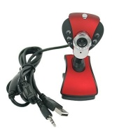 USB 2.0 6 LED 8 Mega Clip WebCam Web Camera with MIC Microphone for Laptop PC