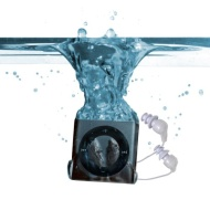 Underwater Audio Swimbuds Waterproof iPod Swimbuds Bundle (Space gray)