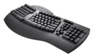 Perixx PERIBOARD-512B, Ergonomic Split Keyboard - Black - Wired USB Interface - Natural Ergonomic Design - Recommended with Repetitive Strain Injuries