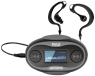 Pyle Pyle PSWP25BK 4GB Waterproof MP3 Player/FM Radio with Waterproof Headphones (Black)