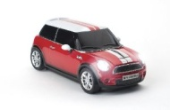 Pawas MINI Cooper S Wireless Mouse RED
