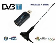USB DVB-T Digital TV Tuner receiver Realtek RTL2832U Elonics E4000 FREEVIEW P250