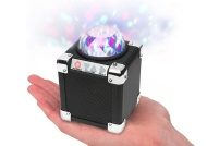 ION Audio Ultra-Compact Wireless Speaker with Party Lights