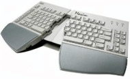 Kinesis Maxim USB-PS/2 Combo Keyboard, native USB with PS/2 adapter