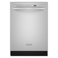 "KitchenAid Superba EQ Series 24"" Built-In Dishwasher with Pro Scrub (KUDE70CV)"