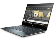 HP Spectre x360 15-df1912nz Blau Hybrid (2-in-1) 39,6 cm (15.6 Zoll) 3840 x 2160 Pixel Touchscreen Intel® Core™ i7 der 9. Generation 16 GB DDR4-SDRAM
