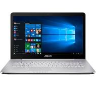 """ASUS N Series Laptop, Intel Core i7, 12GB RAM, 2TB + 128GB SSD, 17.3"""" Full HD, Grey"""