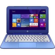 "HP Stream Celeron 11"" 2GB 32GB SSD Laptop - Blue."