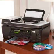 Lexmark Wireless Photo Printer, Copy, Scan and Fax with 5-Year Warranty