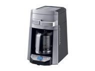 DeLonghi 14 Cup 24 Hour Programmable Front Access Stainless Steel Drip Coffee Maker