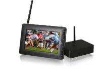 Azend Group Envizen Home Roam TV - Portable, Personal 7 Inch LCD Receiver for all Cable /TV Channels HR701, Black