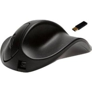 HandShoe Wireless Ergonomic Mouse - Light Click - Medium - Right Hand (Black)