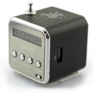 LowClick Mini Speaker MP3 Music Player Amplifier Micro SD USB Disk FM Radio