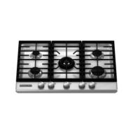 """KitchenAid 30"""" Gas Cooktop KFGS306V"""