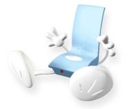 Zadro Speakerman Stereo Amplifier, Blue
