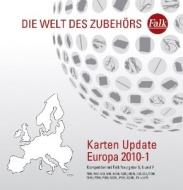 Falk Karten-Update West- und Osteuropa (2010-1) für Falk Navigationssysteme 5, 6 und 7 der E-,N-,P-Serie