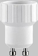 Lunartec Lampensockel-Adapter Adapter GU10 auf E14, 4er-Set
