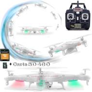 Pack Drône caméra HD X5C SYMA RC et SD 4Go