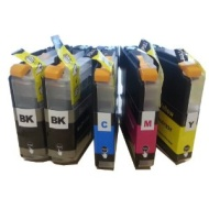 5 XL ColourDirect LC123 / LC121 Chipped Ink Cartridges for Brother DCP-J132W DCP-J152W DCP-J552DW MFC-J650DW DCP-J752DW DCP-J4110DW MFC-J870DW MFC-J44