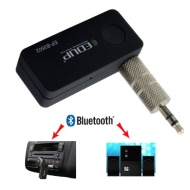 Bluetooth Wireless Music Adaptor. Car Aux 3.5mm RCA. Audio Receiver to Stream Music from your Bluetooth Device (iPad, iPhone, iPod, iTouch, Smartphone