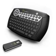 Cideko Air Keyboard Wireless Media Keyboard & Gyro Mouse for HTPC, PC, Mac & PS3