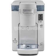 Cuisinart Compact Single Serve Brewing System - Powered by Keurig - White