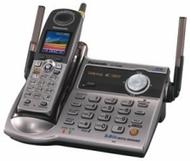 Panasonic Refurb KXTG5631S 5.8GHz Cordless Phone,Digital Answering Device,Silver