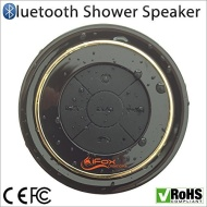 Bluetooth Shower Speaker - Waterproof & Dustproof - CE/ROHS/FCC Certified - Money-Back Guarantee - 2015 Model - Portable - Radio - Pairs with all Smar